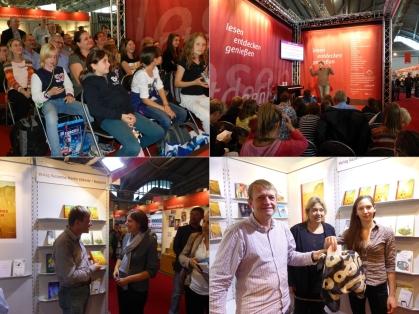 Martin Ebbertz auf der Frankfurter Buchmesse