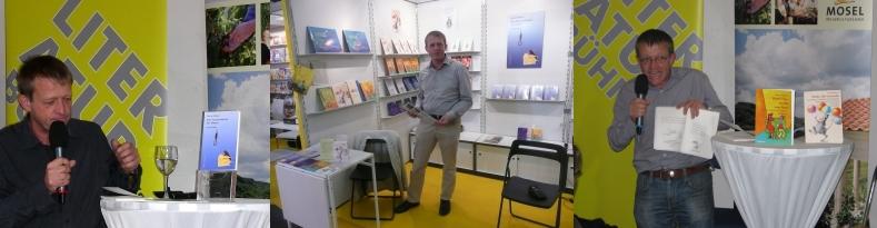 Stand und Autorenlesungen auf der Frankfurter Buchmesse