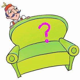 Onkel Theos Sofa ist leer